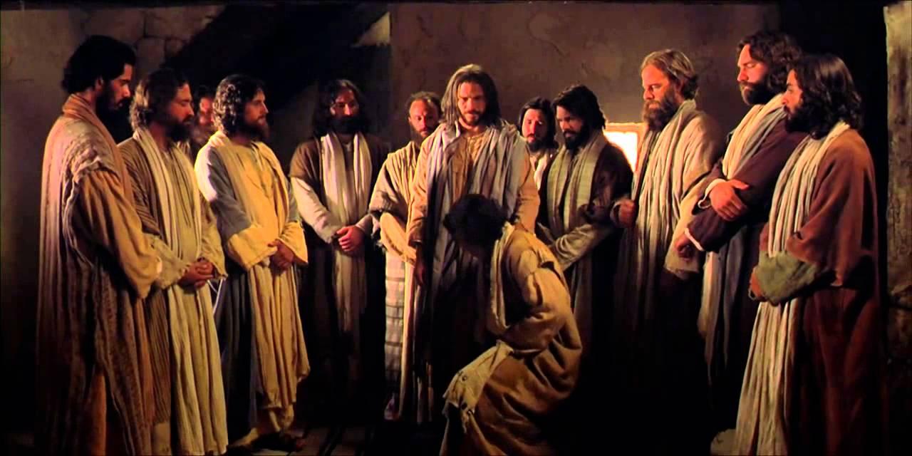 Trabalhadores da última hora Jesus e seus apostolos